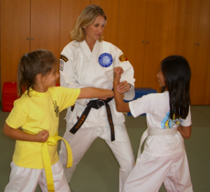 Karate Is For Girls, Too!