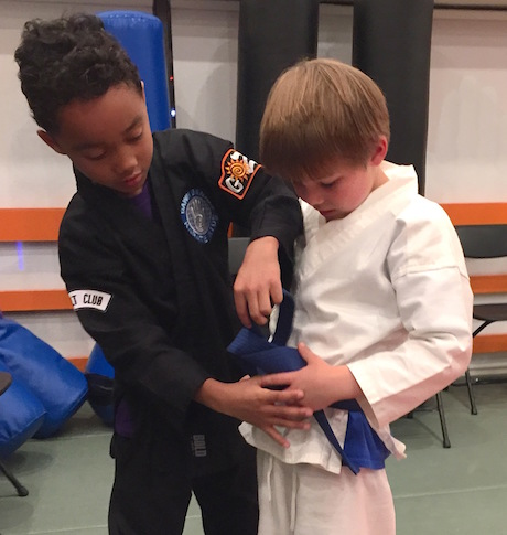 Karate Teaches Kindness.